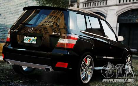 Mercedes-Benz GLK 320 CDI para GTA 4 left