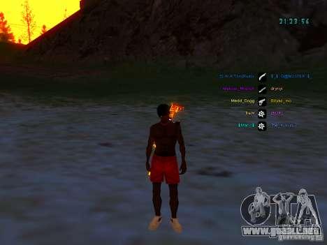 Paquete de piel para samp-rp para GTA San Andreas tercera pantalla