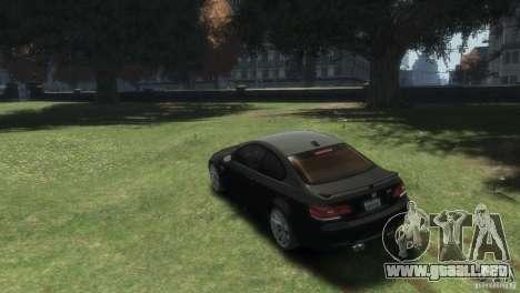 BMW M3 para GTA 4 left