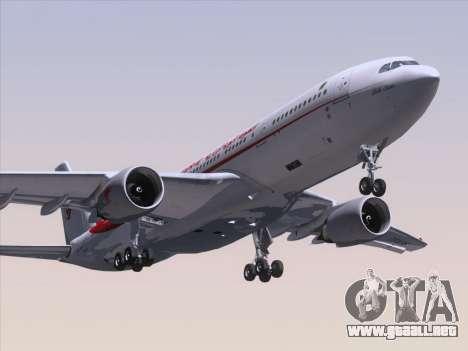 Airbus A330-203 Air Algerie para GTA San Andreas left
