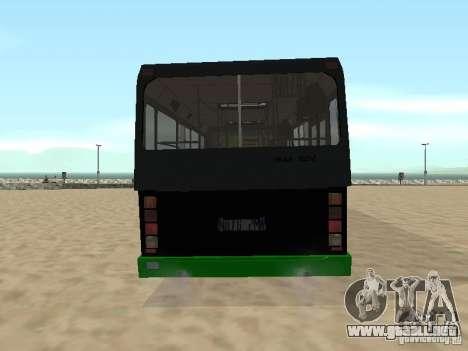 Trailer de Liaz 6212 para la visión correcta GTA San Andreas