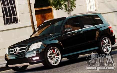 Mercedes-Benz GLK 320 CDI para GTA 4