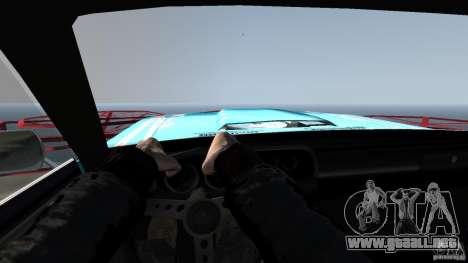 Afterburner Flatout UC para GTA 4 vista interior