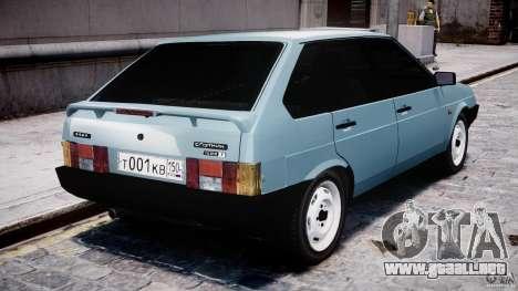 Vaz-21093i para GTA 4 visión correcta