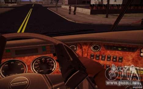Freightliner Argosy para visión interna GTA San Andreas