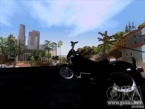 Harley Davidson FXD Super Glide para GTA San Andreas vista hacia atrás