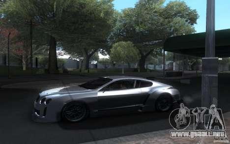 Bentley Continental Super Sport Tuning para visión interna GTA San Andreas