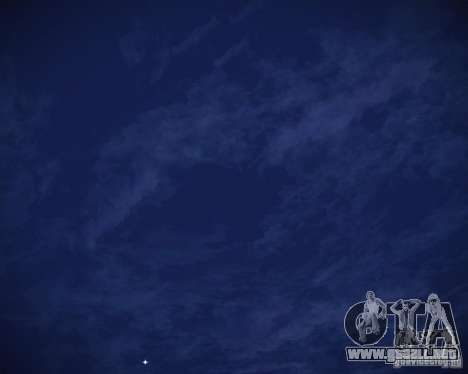 Real Clouds HD para GTA San Andreas octavo de pantalla