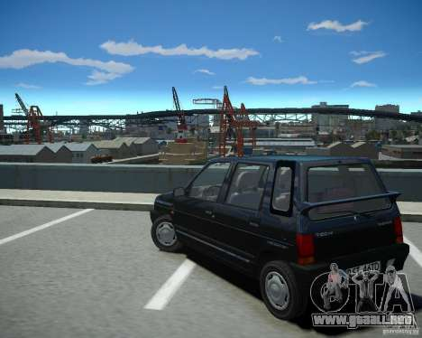 Daewoo Tico SX 1996 para GTA 4 Vista posterior izquierda