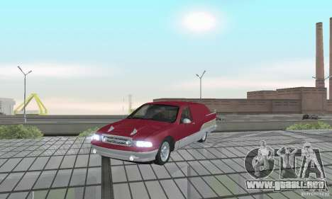 Chevrolet Caprice Majestic Nomad Custom 1992 para GTA San Andreas