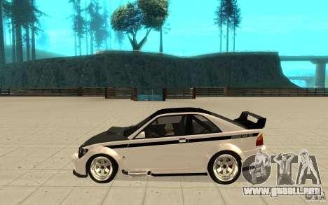 GTA IV Sultan RS FINAL para GTA San Andreas left