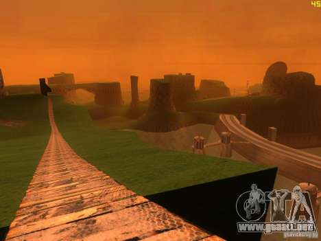 Without the desert para GTA San Andreas quinta pantalla