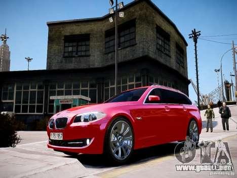BMW 525i Touring para GTA 4 Vista posterior izquierda