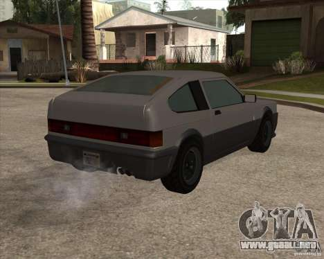 Blistac mejorada para la visión correcta GTA San Andreas