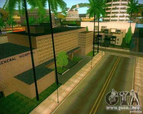Nuevas texturas Hospital General de todos los Sa para GTA San Andreas