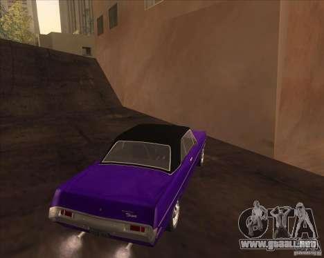 1971 Plymouth Scamp para la visión correcta GTA San Andreas