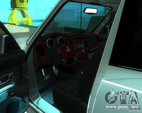 Mitsubishi Pajero STR I para la visión correcta GTA San Andreas
