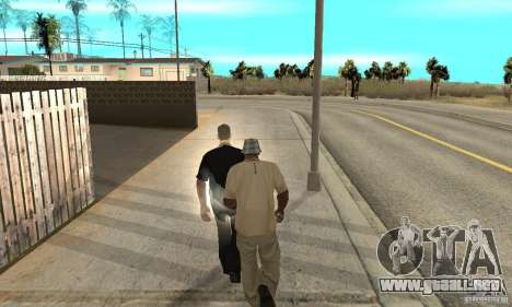 SuperClon (clonación personas en SAN ANDREAS) para GTA San Andreas quinta pantalla