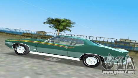 Pontiac GTO The Judge 1969 para GTA Vice City