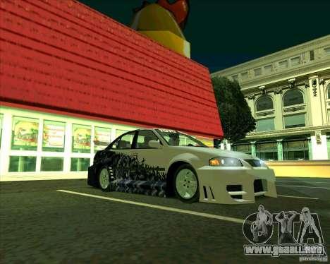 Nissan Sentra para GTA San Andreas