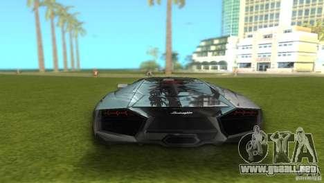Lamborghini Reventon para GTA Vice City left