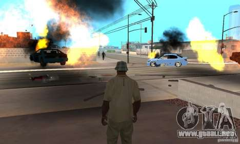 Hot adrenaline effects v1.0 para GTA San Andreas octavo de pantalla