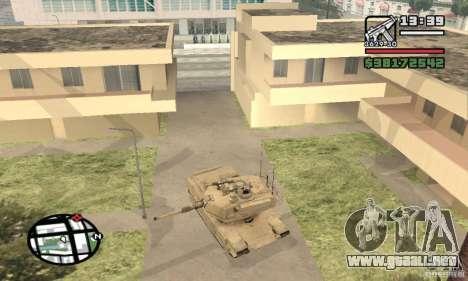 M1A2 Abrams TUSK para la visión correcta GTA San Andreas