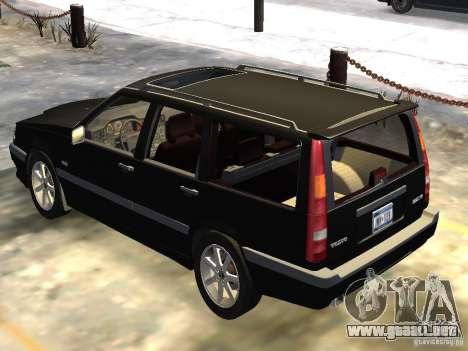 Volvo 850 R 1996 Rims 1 para GTA 4 visión correcta
