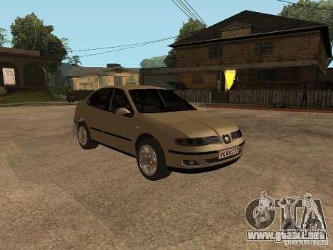 Seat Toledo 1.9 1999 para GTA San Andreas vista hacia atrás