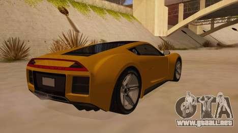 Saleen S5S Raptor 2010 para la visión correcta GTA San Andreas