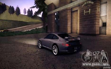 Porsche 911 GT3 (997) 2007 para GTA San Andreas left