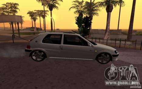 Peugeot 106 GTi para GTA San Andreas left