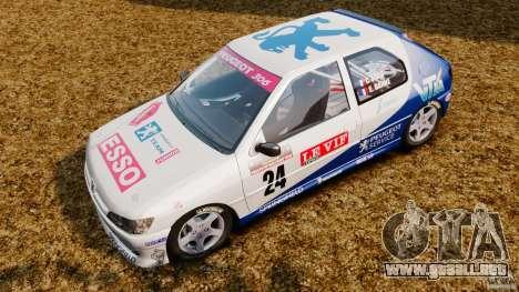 Peugeot 306 Gr. N Rally para GTA 4 Vista posterior izquierda