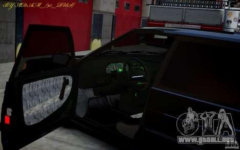 VAZ 2115 para GTA 4 Vista posterior izquierda