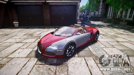 Bugatti Veyron Grand Sport [EPM] 2009 para GTA 4 visión correcta