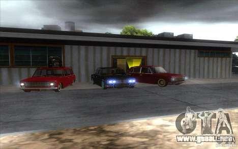 VAZ 2102 retro para visión interna GTA San Andreas