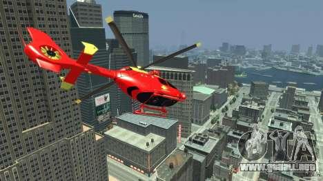 Medicopter 117 para GTA 4 visión correcta