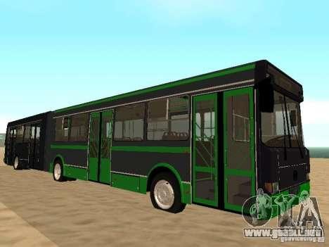 LIAZ 6212 para visión interna GTA San Andreas