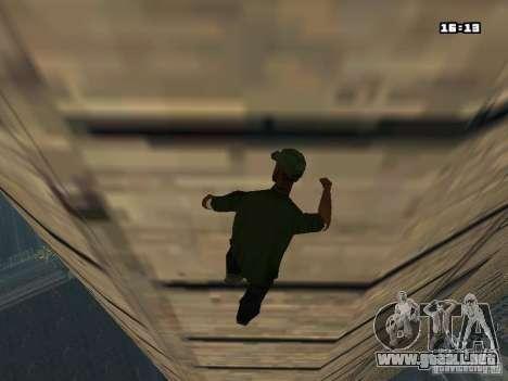Parkour Mod para GTA San Andreas séptima pantalla