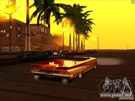 ENBSeries v1.6 para GTA San Andreas segunda pantalla