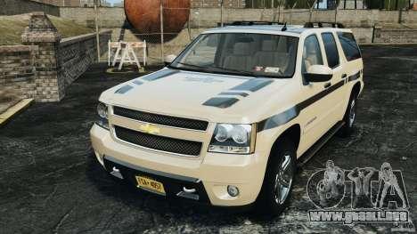 Chevrolet Suburban GMT900 2008 v1.0 para GTA 4