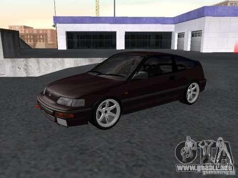 Honda Civic CRX JDM para GTA San Andreas left