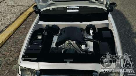 Ford Crown Victoria Police Unit [ELS] para GTA 4 vista interior