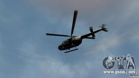 Helicopter Generation-GTA para GTA 4 vista hacia atrás