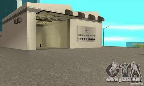 Mercedes Showroom v.1.0 (Autocentre) para GTA San Andreas tercera pantalla