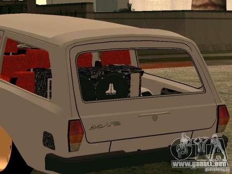 Volga GAZ 310221 para GTA San Andreas vista posterior izquierda