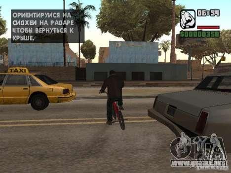 Niko Bellic para GTA San Andreas octavo de pantalla