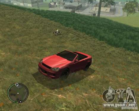 Feltzer de GTA 4 para la visión correcta GTA San Andreas