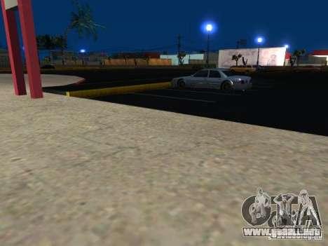 Concierto de la AK-47 v 2.5 para GTA San Andreas segunda pantalla