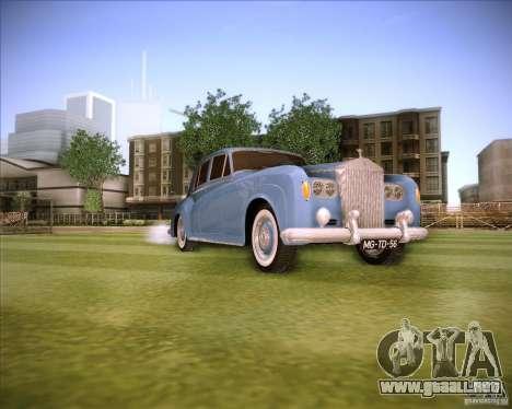 Rolls Royce Silver Cloud III para la visión correcta GTA San Andreas